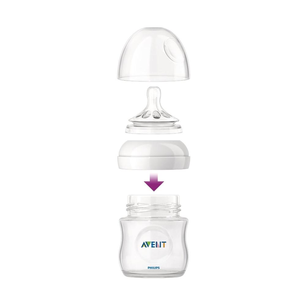 AVENT SCF671/17 125 ml, 0M+ bērnu barošanas pudelīte