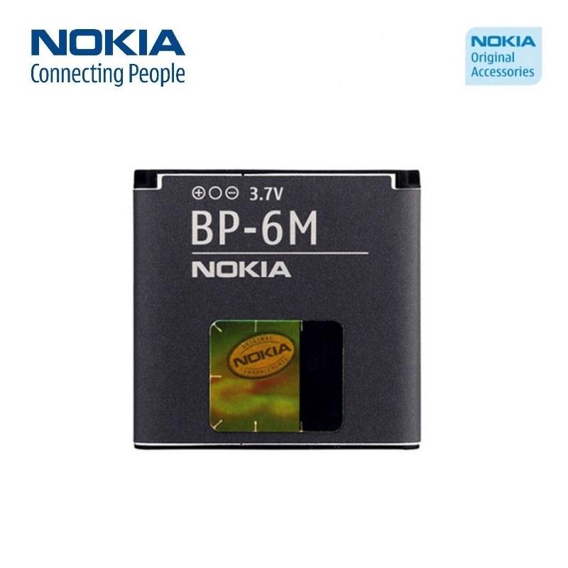 Nokia BP-6M Original Battery for 6280 N73 Li-Ion 1100mAh (M- akumulators, baterija mobilajam telefonam