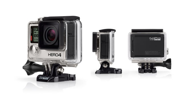 HERO4 Black Motosports - English / French sporta kamera
