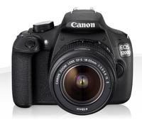 Canon EOS 1200D 18Mpix 18-55DC Black Spoguļkamera SLR