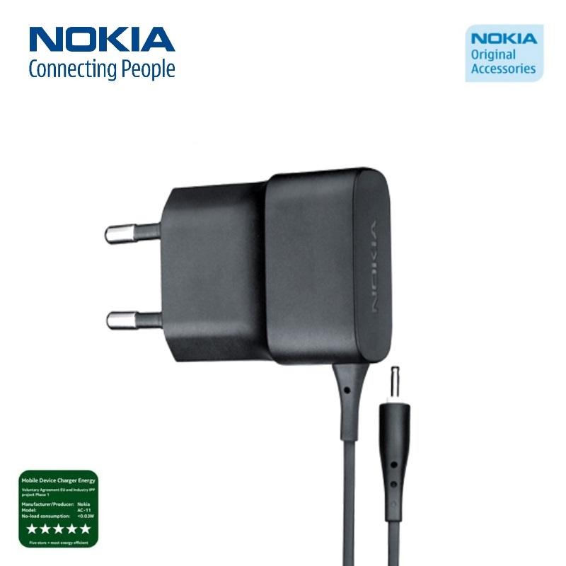 Nokia AC-11E Original Travel Charger compact 450mAh aksesuārs mobilajiem telefoniem