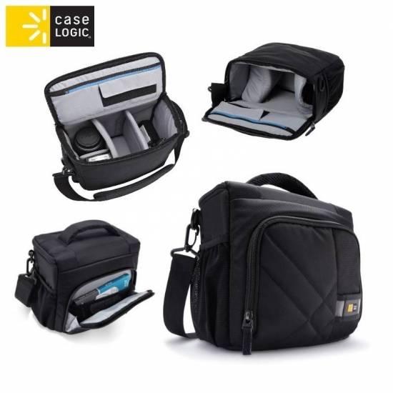Case Logic CPL106 universāla soma spoguļkamer m ar rokturi u soma foto, video aksesuāriem