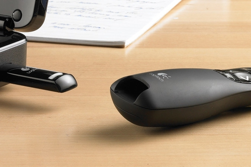 Logitech R400 cordless Presenter black USB