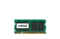 Crucial 2GB, 200-pin SODIMM, DDR2 PC2-6400, CL=6, Unbuffered operatīvā atmiņa