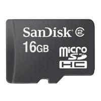 SANDISK 16GB microSDHC card atmiņas karte
