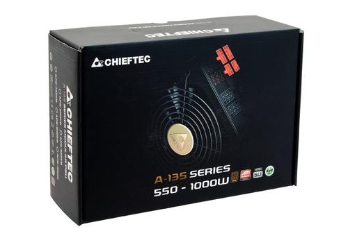 CHIEFTEC 750W ATX12V 2.3 80+ bronze 14cm Barošanas bloks, PSU