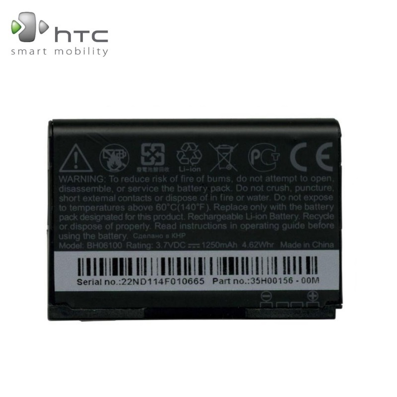 HTC BA S570 Original Battery for Cha Cha A810E G16 Li-Ion 12 akumulators, baterija mobilajam telefonam