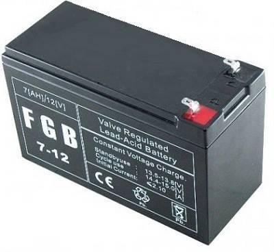 EMU BATTERY 12V 7AH FGB7-12 UPS aksesuāri