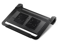 Cooler Master NotePal U2 PLUS Cooling Pad R9-NBC-U2PK-GP portatīvā datora dzesētājs, paliknis