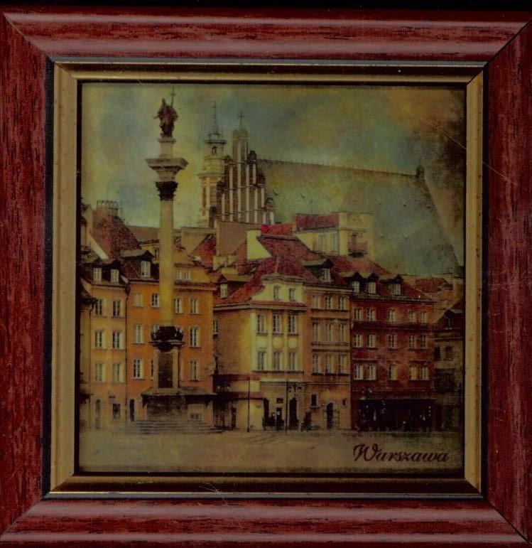 Doslonce Warszawa - Obrazek w ramce 10x10 246989