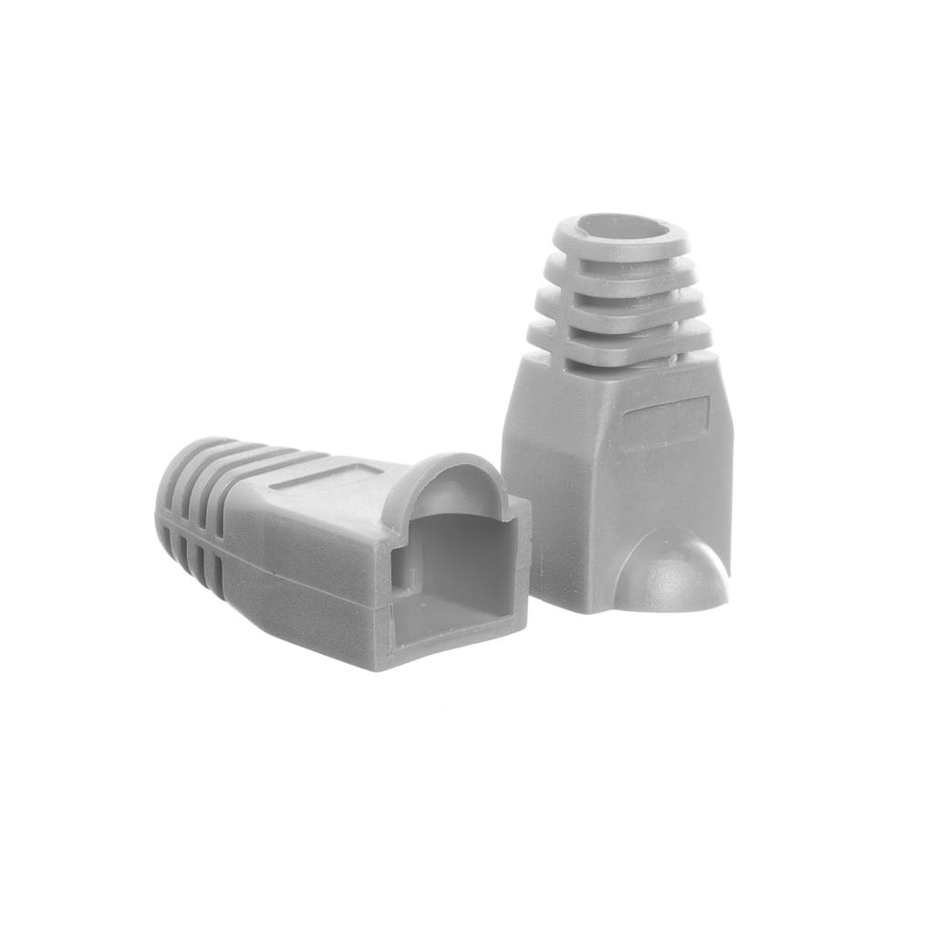 Netrack boot for RJ45 plug gray (100 pcs.)