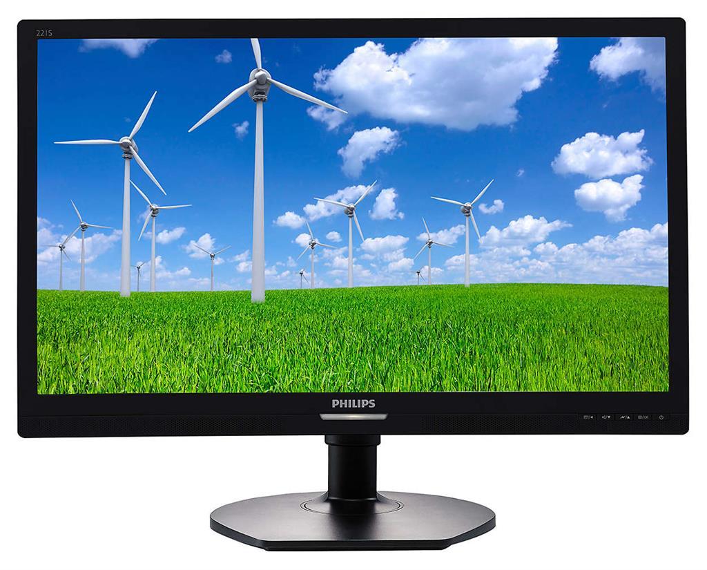 Philips 221S6QYMB 21.5'', panel  IPS, D-Sub/DVI/DP monitors