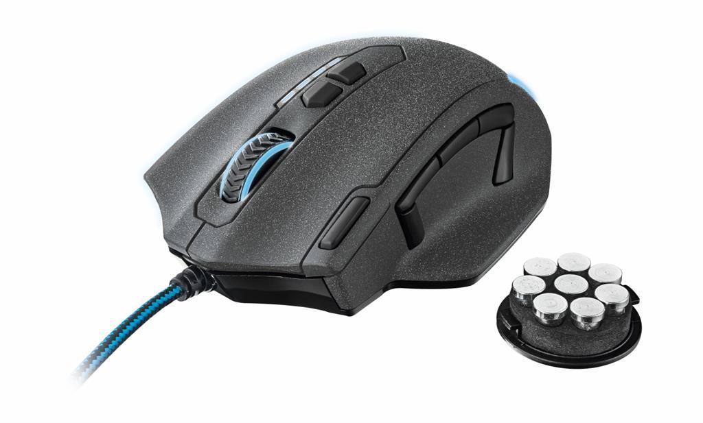 Trust GXT155 Gaming Mouse Datora pele