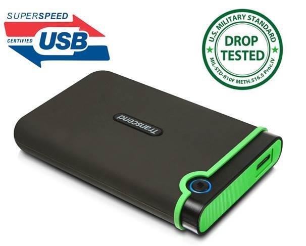 TRANSCEND 1TB StoreJet 2.5 M3 USB 3.0 Ārējais cietais disks