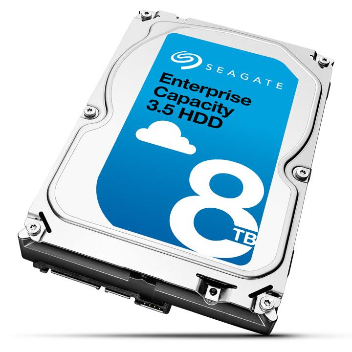 Server HDD Seagate Enterprise Capacity 3.5'' 8TB SATA3 7200RPM 256MB cietais disks
