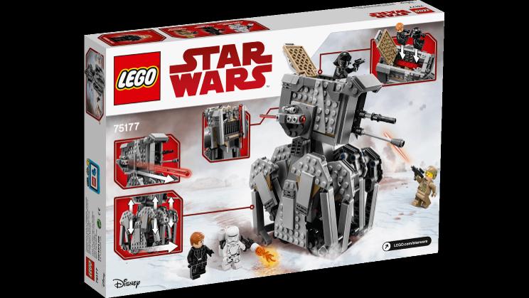 LEGO Star Wars 75177 First Order Heavy Scout Walker LEGO konstruktors