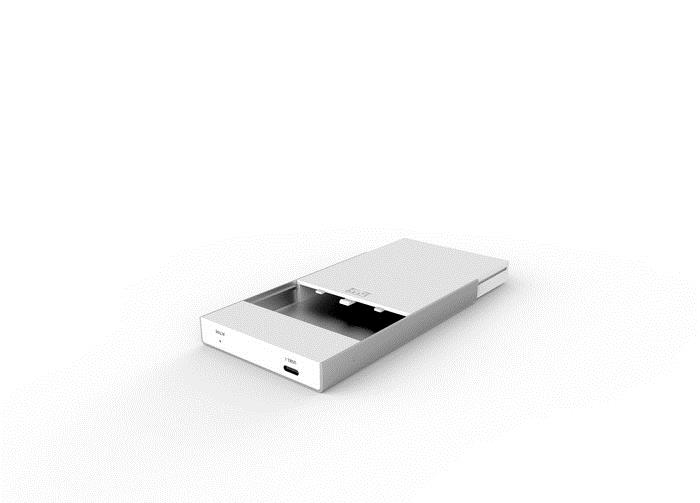 Unitek Type-C disk external enclosure 2.5 ''USB 3.1, Y-3363 cietā diska korpuss