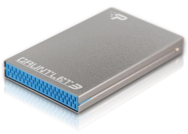 HDD/SSD Enclosure Patriot Guantlet 3 2.5'' USB3.0 Aluminium body cietā diska korpuss