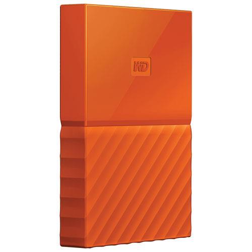 WD My Passport 2.5'' 4TB USB 3.0 Orange Ārējais cietais disks
