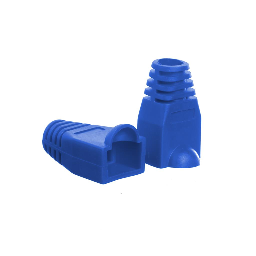 Netrack boot for RJ45 plug blue (100 pcs.)
