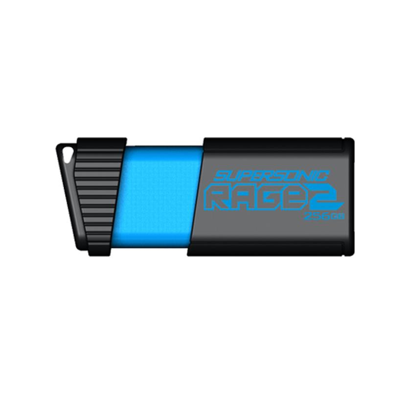 Patriot Supersonic Rage2 256GB USB3.0 Flash Drive R/W 400MB/300MB USB Flash atmiņa
