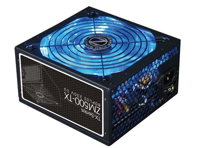 Zalman Power Supply ZM500-TX 500W 80 PLUS Barošanas bloks, PSU