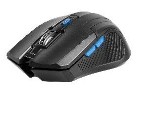 Mouse TRACER Fairy Black RF nano Datora pele