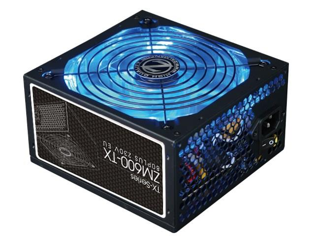 Zalman Power Supply ZM600-TX 600W 80 PLUS Barošanas bloks, PSU