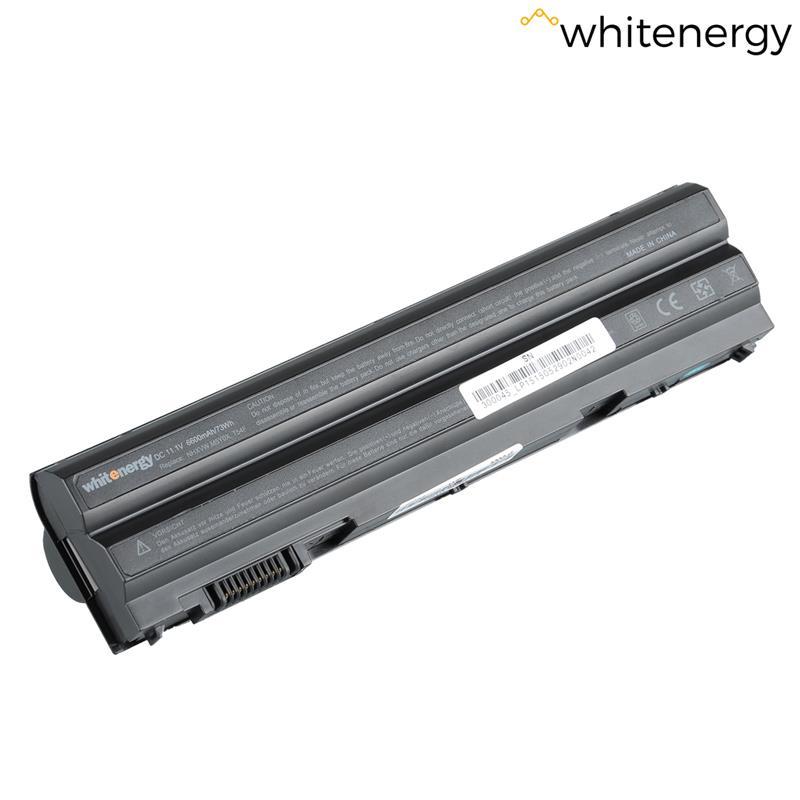 Whitenergy High Capacity Battery Dell Latitude E6420 11.1V Li-Ion 6600mAh akumulators, baterija portatīvajiem datoriem