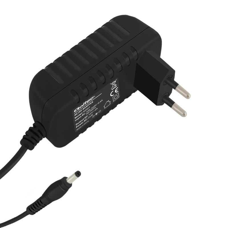 Qoltec AC adapter 24W | 12V | 2A | 5.5*2.1 | 1,4m aksesuārs portatīvajiem datoriem