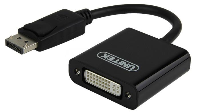 Unitek Adapter DisplayPort to DVI, Y-5118AA karte