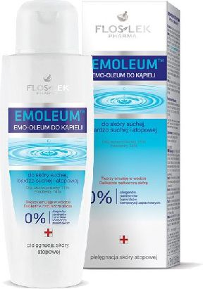 FLOSLEK Emoleum Emulsja do kapieli 200ml 143849