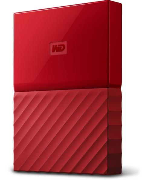 Western Digital My Passport 4TB red HDD USB 3.0 Ārējais cietais disks