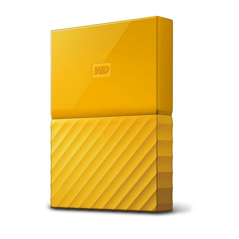 Western Digital My Passport 4 TB - USB 3.0 - yellow Ārējais cietais disks