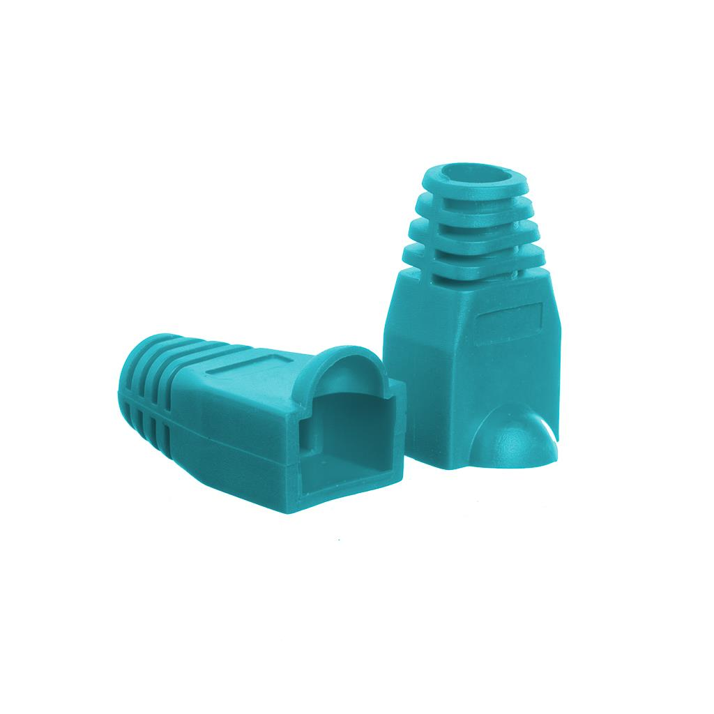 Netrack boot for RJ45 plug green (100 pcs.)