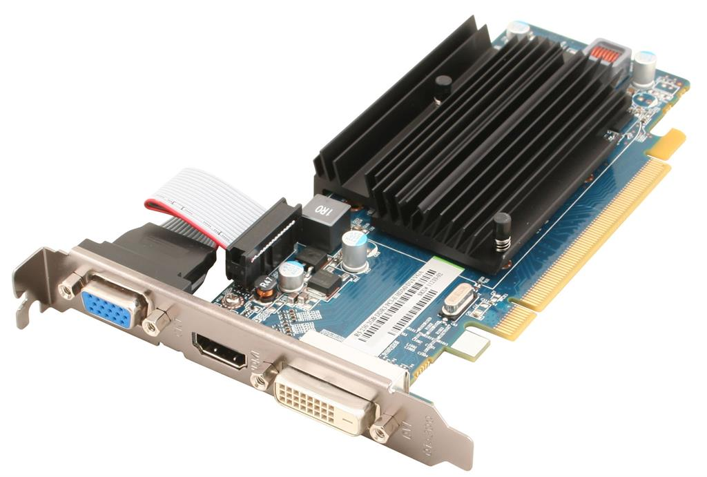 Sapphire Radeon R5 230, 2GB DDR3 (64 Bit), HDMI, DVI, VGA, BULK video karte