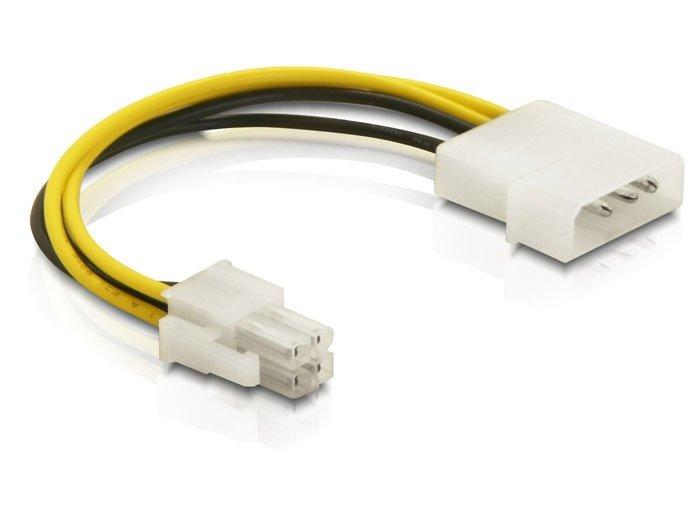 Roger Tīkla Vads PSU DC 5.25 (Molex) - > M-P4 (4PIN) kabelis datoram