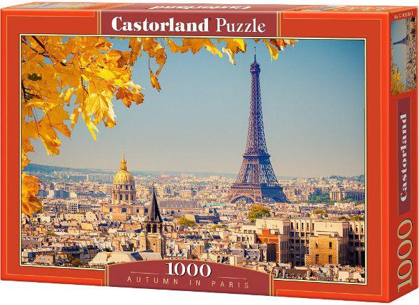 Castor 1000 EL. Autumn in Paris (103089) puzle, puzzle