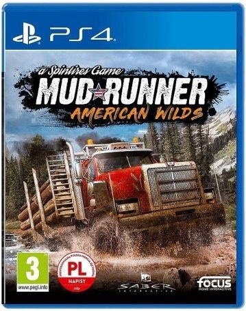 Gra PS4 SPINTIRES MUDRUNNER ULTIMATE EDITION 3512899120747