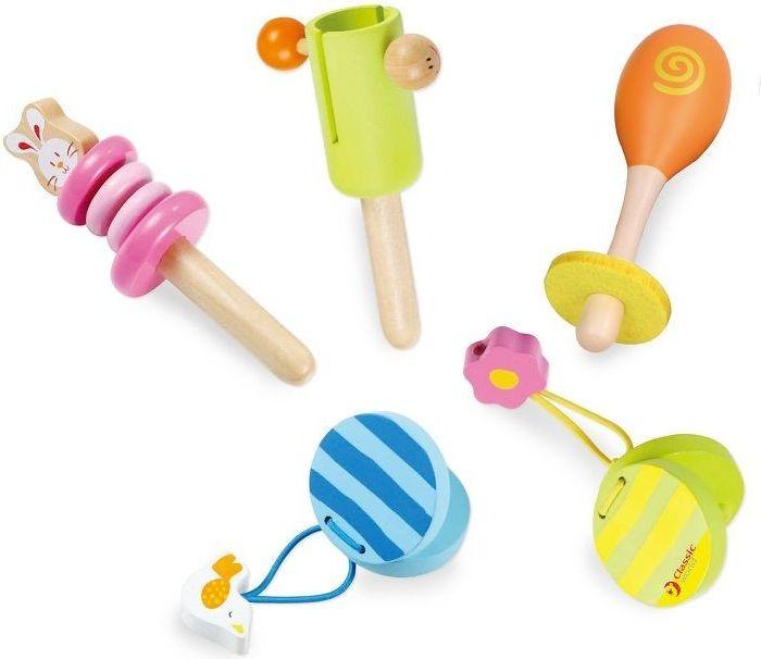 ClassicWorld Zestaw zabawki muzyczne 5w1 CL4002