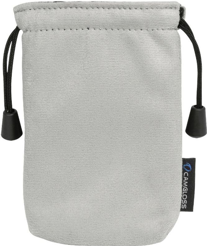 CAMGLOSS  Media Cleaning pouch Mikrofase grey soma foto, video aksesuāriem