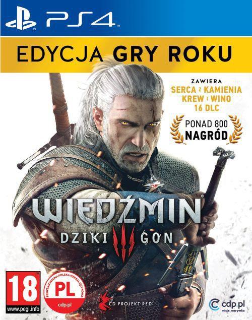 Wiedzmin 3: Dziki Gon - Edycja Gry Roku 5902367640293
