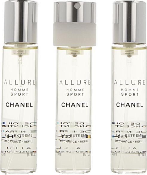 Chanel Allure Homme Sport Extreme 3x20 ml wklady Vīriešu Smaržas