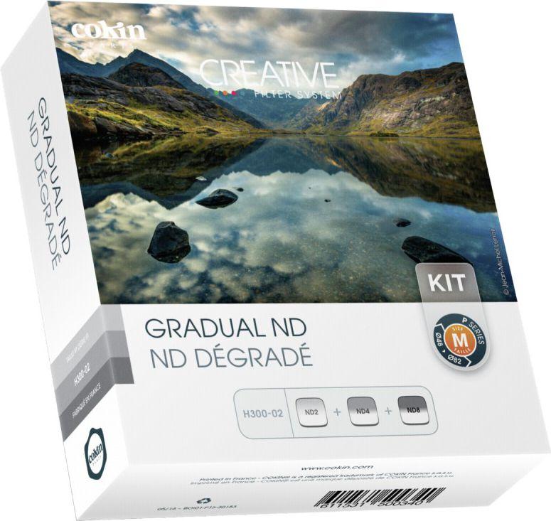 Cokin H300-02 Gradual ND Kit inkl. 3 Filter foto objektīvu blende
