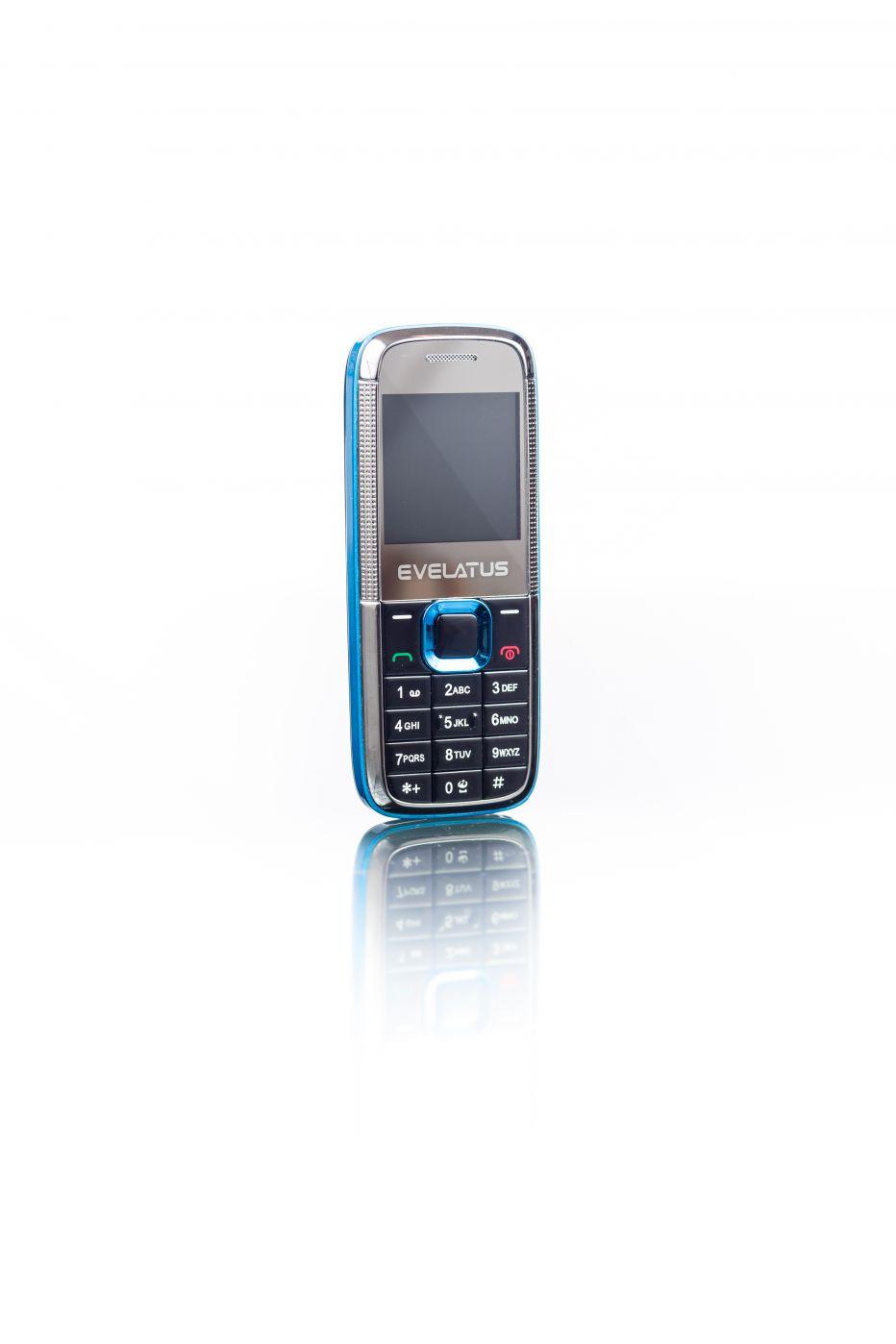 Evelatus EM01 Mini Dual SIM  black blue Mobilais Telefons