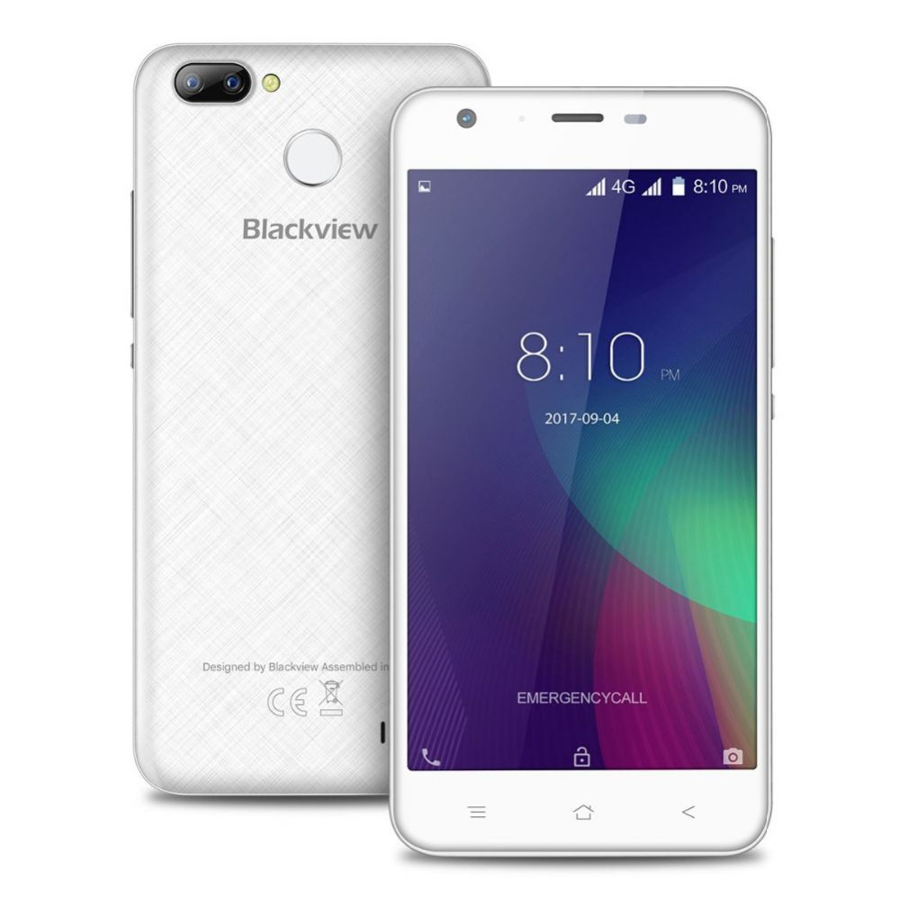 Smartphone | BLACKVIEW | A7 Pro | 16 GB | White | 3G | LTE | OS Android 7.0 | Screen  5