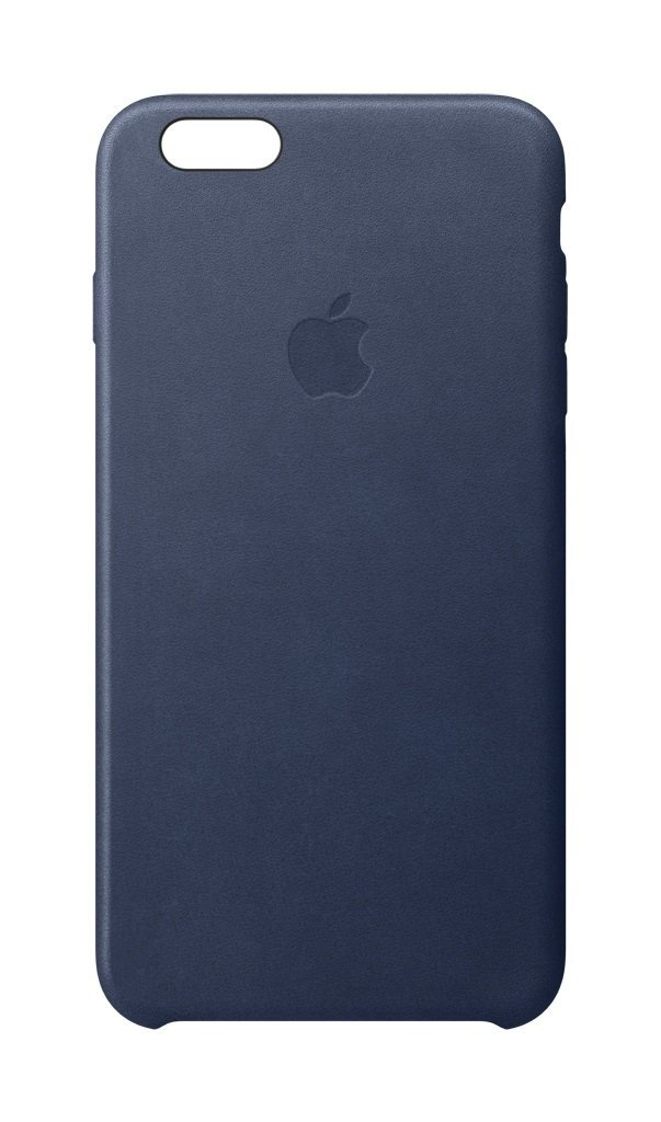 iPhone 6s Leather Case Midnight Blue  MKXU2ZM/A aksesuārs