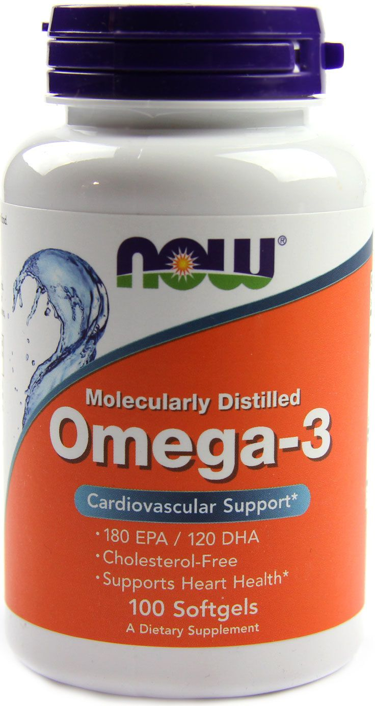NOW Foods Omega 3 100 caps.