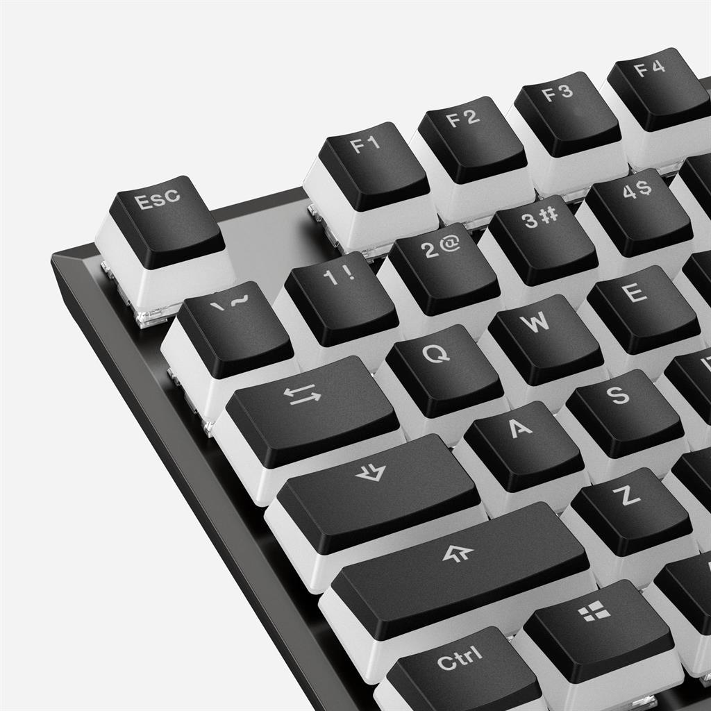 KINGSTON HyperX Double Shot PBT Keycap peles paliknis