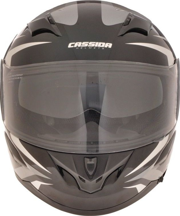 Motociklininko salmas Cassida Integral 2.0 juoda/balta/pilka 5665074
